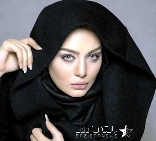 سحر قریشی با حجاب کامل