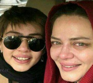 بهاره رهنما در کنار دخترش بدون آرایش