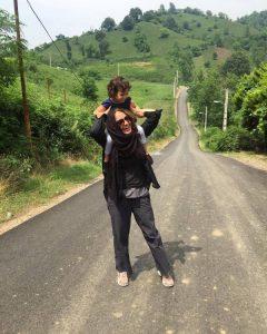 عکس مهناز افشار و دخترش لیانا