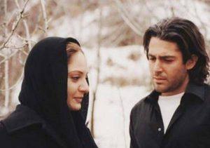 مهناز افشار و محمدرضا گلزار در فیلم زهر عسل