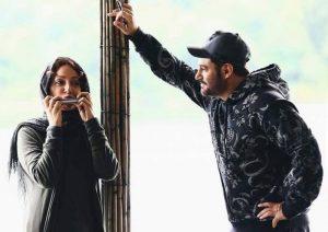مهناز افشار و محمدرضا گلزار در سریال عاشقانه