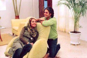 عکسی از محمدرضا گلزار و مهناز افشار
