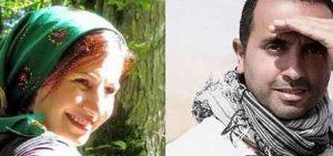 نیما بانکی و لیلی رشیدی با روسری سبز