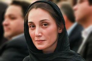 هدیه تهرانی بدون آرایش در یک مجلس رسمی