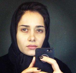 تصویری از پریناز ایزدیار بدون آرایش