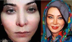عکس بدون آرایش فقیهه سلطانی