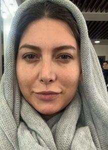 عکس بدون آرایش فریبا نادری