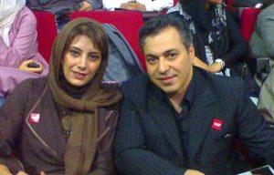 لادن طباطبایی و سعید تهرانی در یک مراسم رسمی