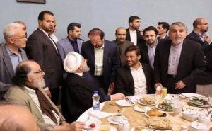 دیدار محمدرضا گلزار با رئیس جمهور