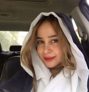 عکس بدون آرایش الناز حبیبی