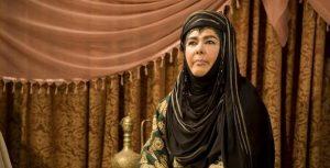 آفرین عبیسی در نقش صفیه خواهر مختار ثقفی و همسر عبدالله بن عمر