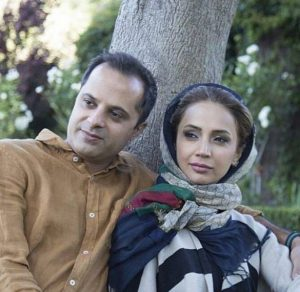 شبنم قلیخانی در کنار همسرش