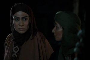 شهین نجف زاده در نقش عذرا همسر سنان بن انس نخعی