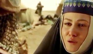 رز رضوی در نقش هانیه زن وهب در صحرای کربلا