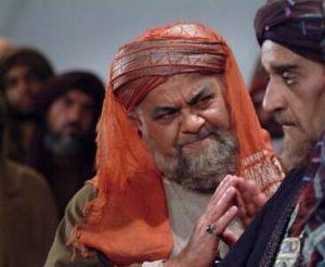 نصرت دستمزدی در نقش پیشکار عبدالله ابن زبیر