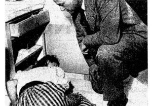 عکس سیاه و سفید جنازه کارول لندیس در خانه اش - خودکشی بازیگران
