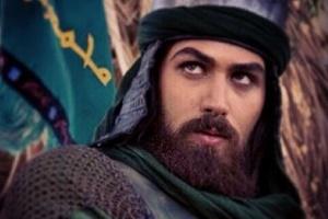 کاوه فتوحی در نقش حضرت ابوالفضل که از فیلم حذف شد