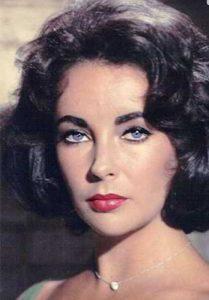 عکس پرتره الیزابت تیلور - خودکشی بازیگران