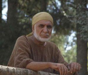 رحمان باقریان زربی در نقش غلام ایرانی مختار درصحنه ای از فیلم
