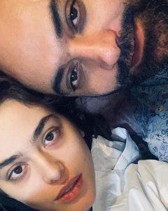 سلفی ریحانه پارسا و همسر سابقش مهدی کوشکی