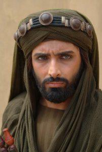 امین زندگانی در نقش مسلم بن عقیل سفیر حسین بن علی در شهر کوفه
