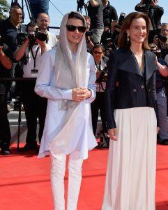 تیپ سفید لیلا حاتمی در روز پنجم جشنواره کن