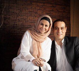 تیپ سفید یاسمینا باهر و همسرش امیریل ارجمند با کت و شلوار