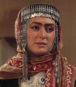 الهام حمیدی در نقش شیرین همسر کیسان ابوعمره
