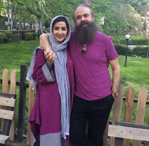 تیپ نفش سارا صوفیانی و همسرش امیرحسین شریفی