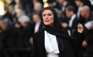تیپ سفیدمشکی بهناز جعفری در اختتامیه جشنواره فیلم کن 2018