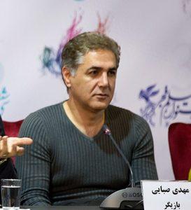 پیرهن جذب مهدی صبایی در جشنواره فیلم فجر