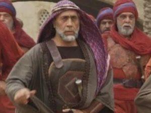 بیژن افشار در نقش محمد ابن اشعث