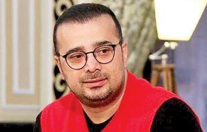 تیپ پرسپولیسی سپند امیر سلیمانی و عینک گرد مشکی