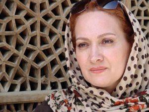 افسانه ناصری از بازیگران قد بلند سینمای ایران