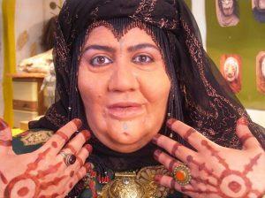 گریم عجیب شهره لرستانی در نقش زنان عرب