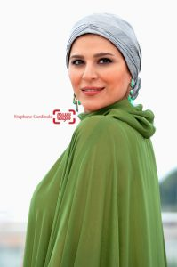 لباس سبز رنگ سحر دولتشاهی در جشنواره فیلم کن ۲۰۱۶