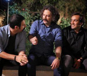 حسام منظور در کنار برادرانش در سریال برادر جان