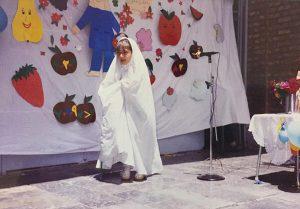 عکس جشن الفبای دیبا زاهدی در 8 سالگی