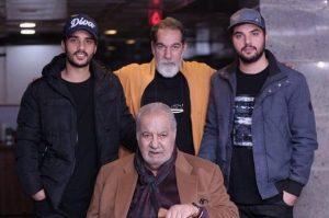 عکس پدر پسری سعید ساعد و سینا سهیلی در کنار هم
