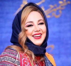 بهنوش بختیاری در جشنواره ی فیلم فجر با لباس سنتی