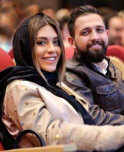 محسن افشانی و همسرش سویل خیابانی در کنار هم