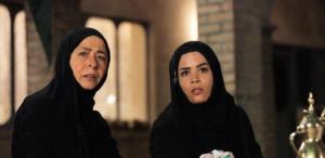 ملیکا شریفی نیا و آزیتا حاجیان با گریم زنان خوزستانی در سریال نجلا