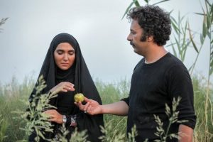 تیپ مشکی سارا رسول زاده و حسام منظور در سریال نجلا