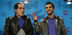 تیپ آبی سعید و ساعد سهیلی در کنار هم در جشنواره فیلم