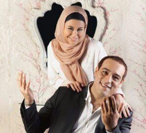 عکس آتلیه ای یاسمینا باهر و امیریل ارجمند