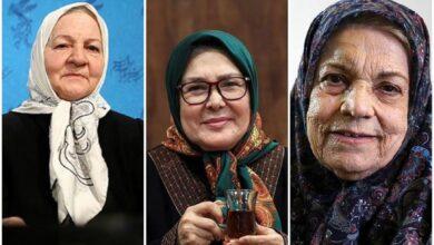 تصویر از مسن ترین بازیگران زن سینمای ایران را بشناسید