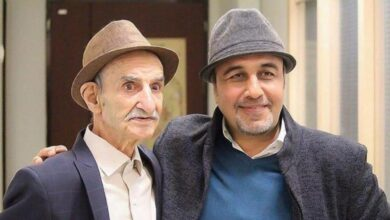تصویر از معرفی بازیگران پیرمرد ایرانی + تصاویر