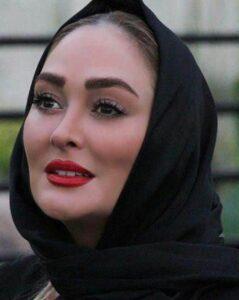 تیپ مشکی الهام حمیدی