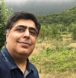 سلفی رضا شفیعی جم در شمال