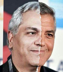 شباهت جرج کلونی و مهران مدیری